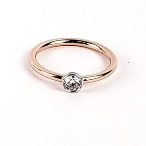 Tiffany & Co. Diamond Solitaire Ring .30 CT. 18kt